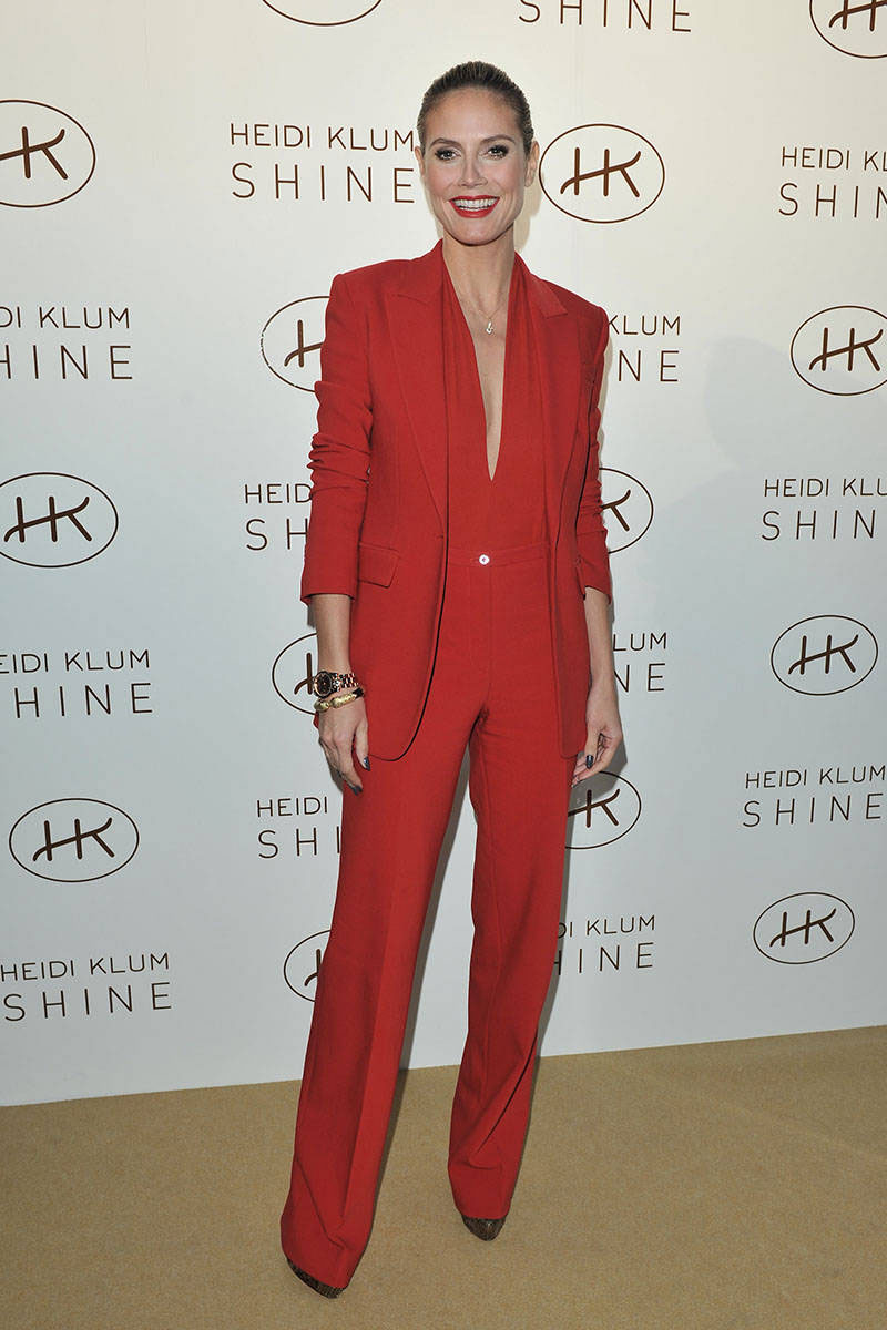 Creative 2012 AW Europe Fashion Women39s Beautiful Red Ankle Length Pants Suits